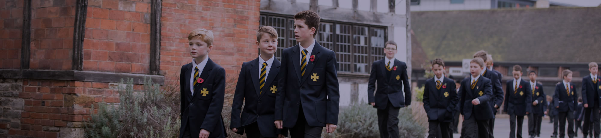 """""""An exemplary grammar school with a unique and inspiring history""""<br /><br />DAILY TELEGRAPH"""